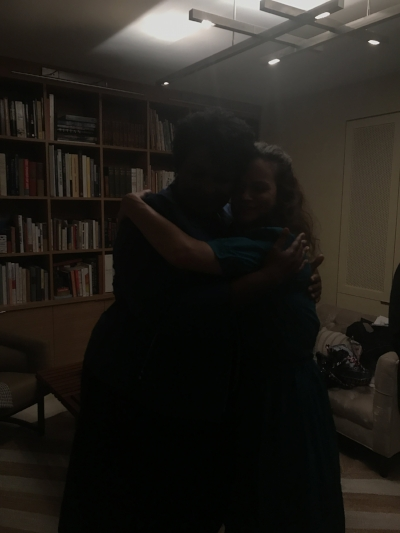 Stacey Abrams and Jennifer Elster
