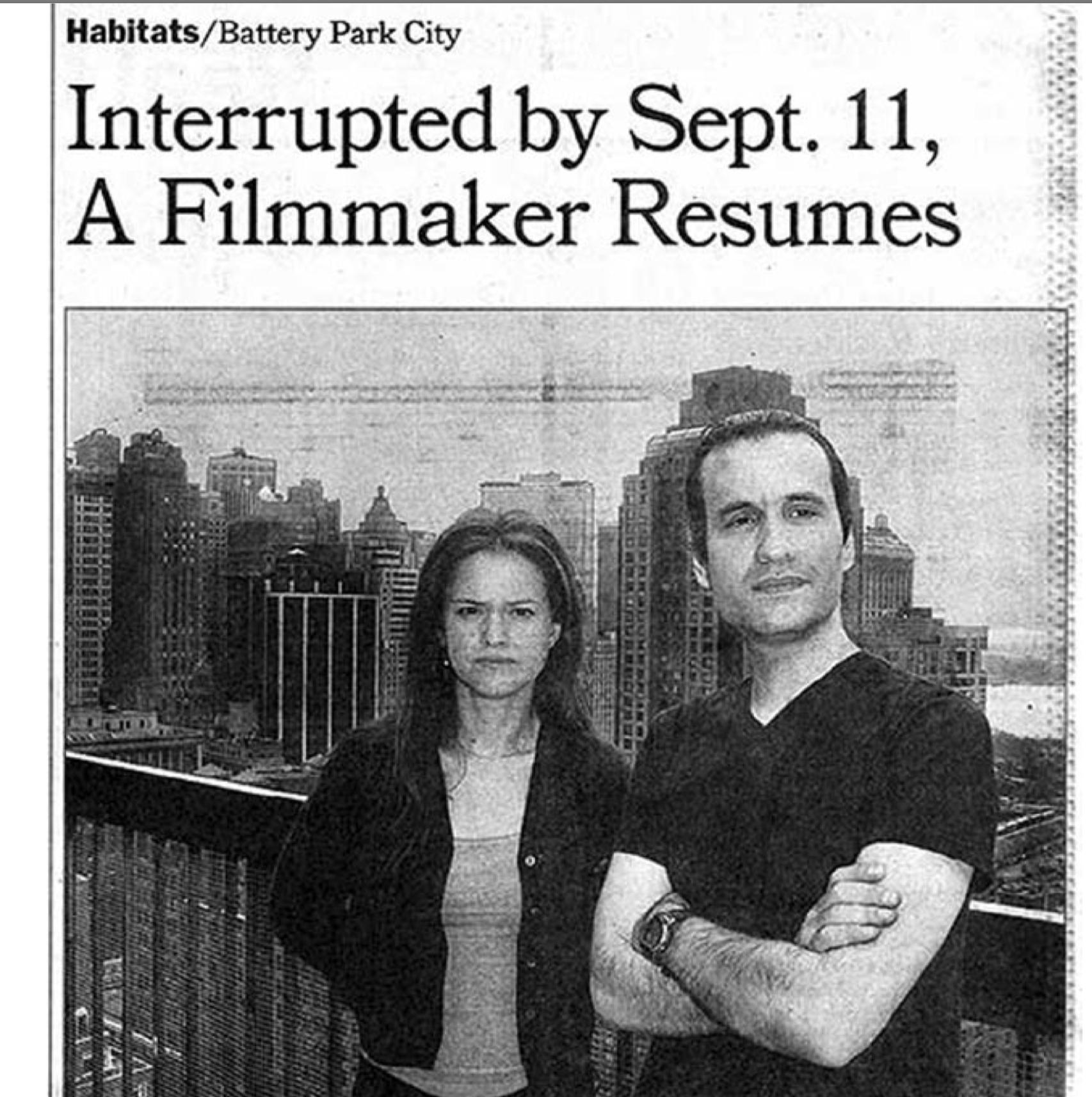 New-York-Times-Press-Jennifer-Elster-Habitats:Battery-Park-City-Interrupted-by-Sept.11-A-Filmmaker-Resumes.png