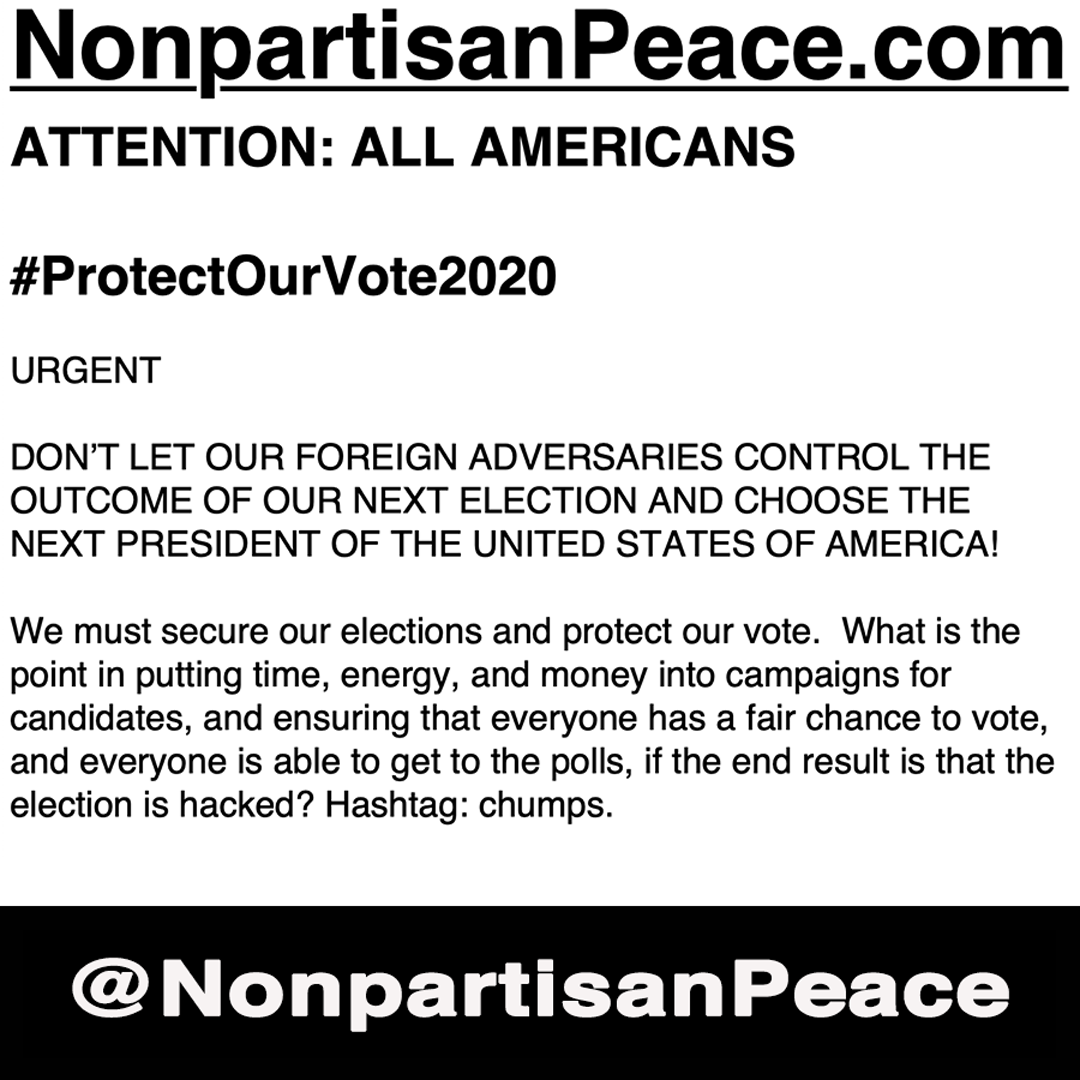 #ProtectOurVote2020 NonpartisanPeace Social Post No1.png