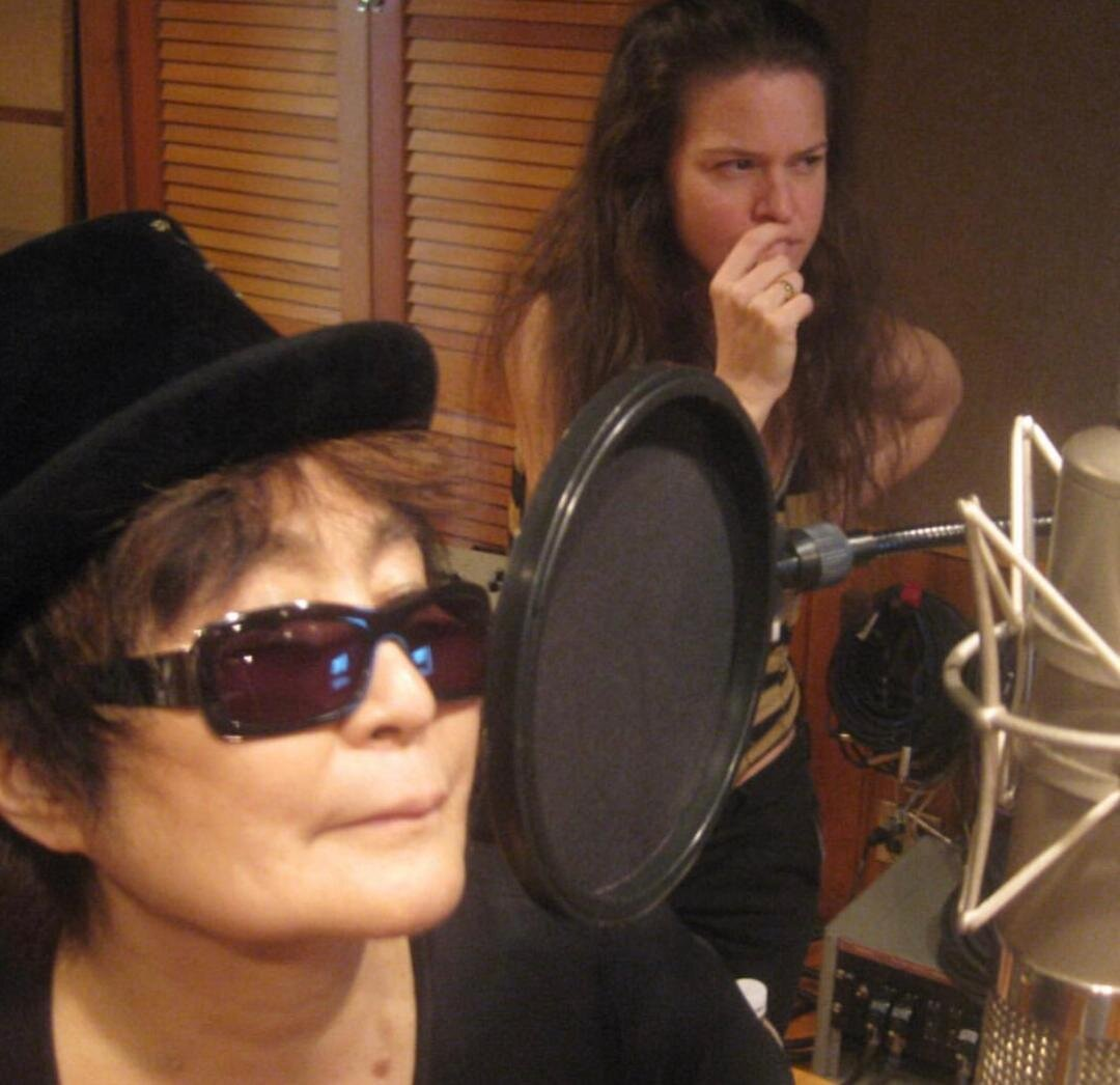 Yoko Ono and Jennifer ELster NYC In the Woods Sear Sound.jpg