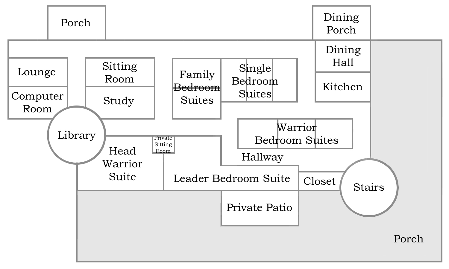 Floor Plan for the forth floor of BFC Stronghold.