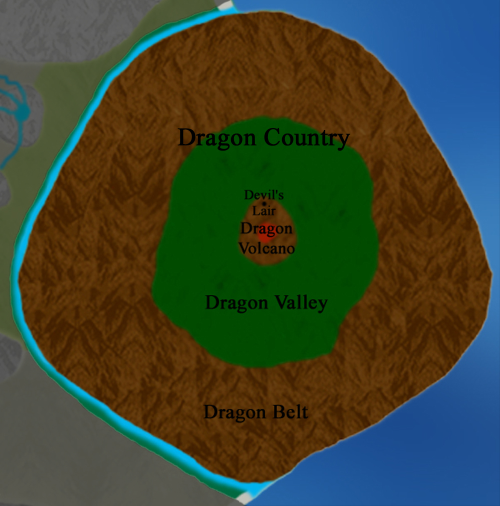 Main Continent:  Dragon Country