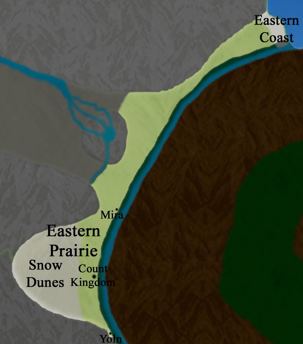 Main Continent:  Eastern Prairie