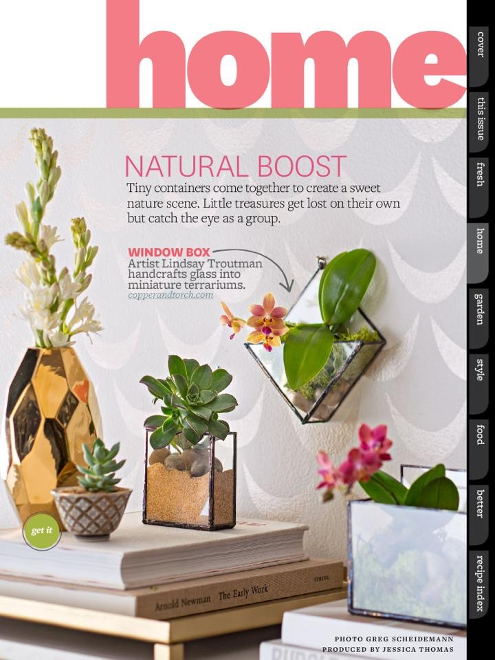 Better Homes and Gardens Feature