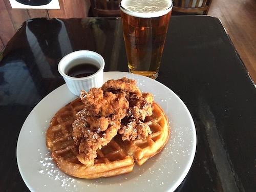 OC Chicken Waffles: Long Beach Area