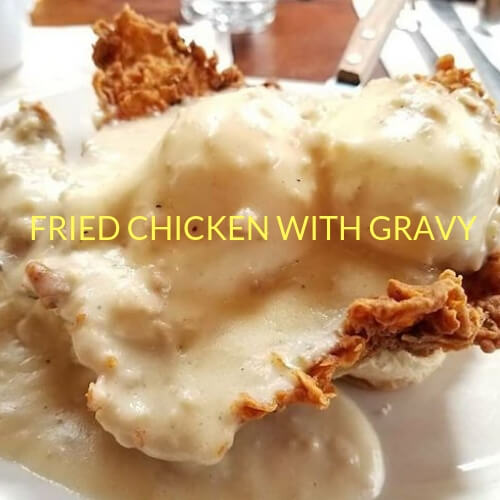 Fried Chicken with Gravy
