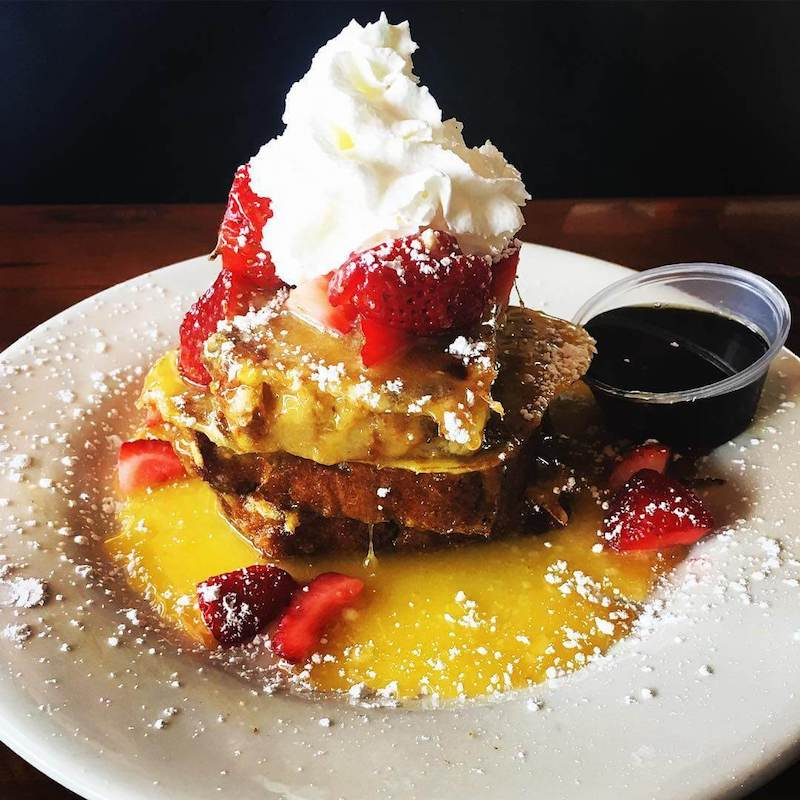 Jack daniel's french toast - THE HANGOUT