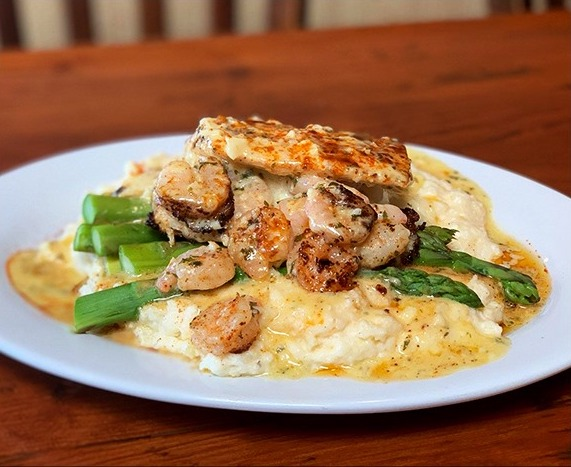 """Exclusive FOOD Specials - Each week, our chef does the """"big reveal"""" — a unique dinner special for Saturday night you won't find anywhere else.In addition, our daily restaurant specials offer some of the best value.Portions are generous.Perfect to share or for take-home."""