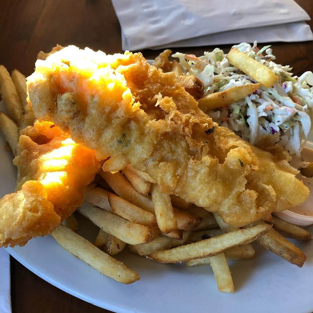 Restaurant Serving Fish and Chips