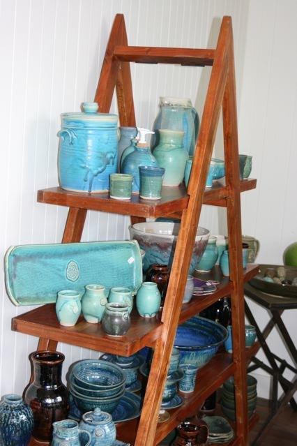 Display of kitchenwares at Holiday Sale