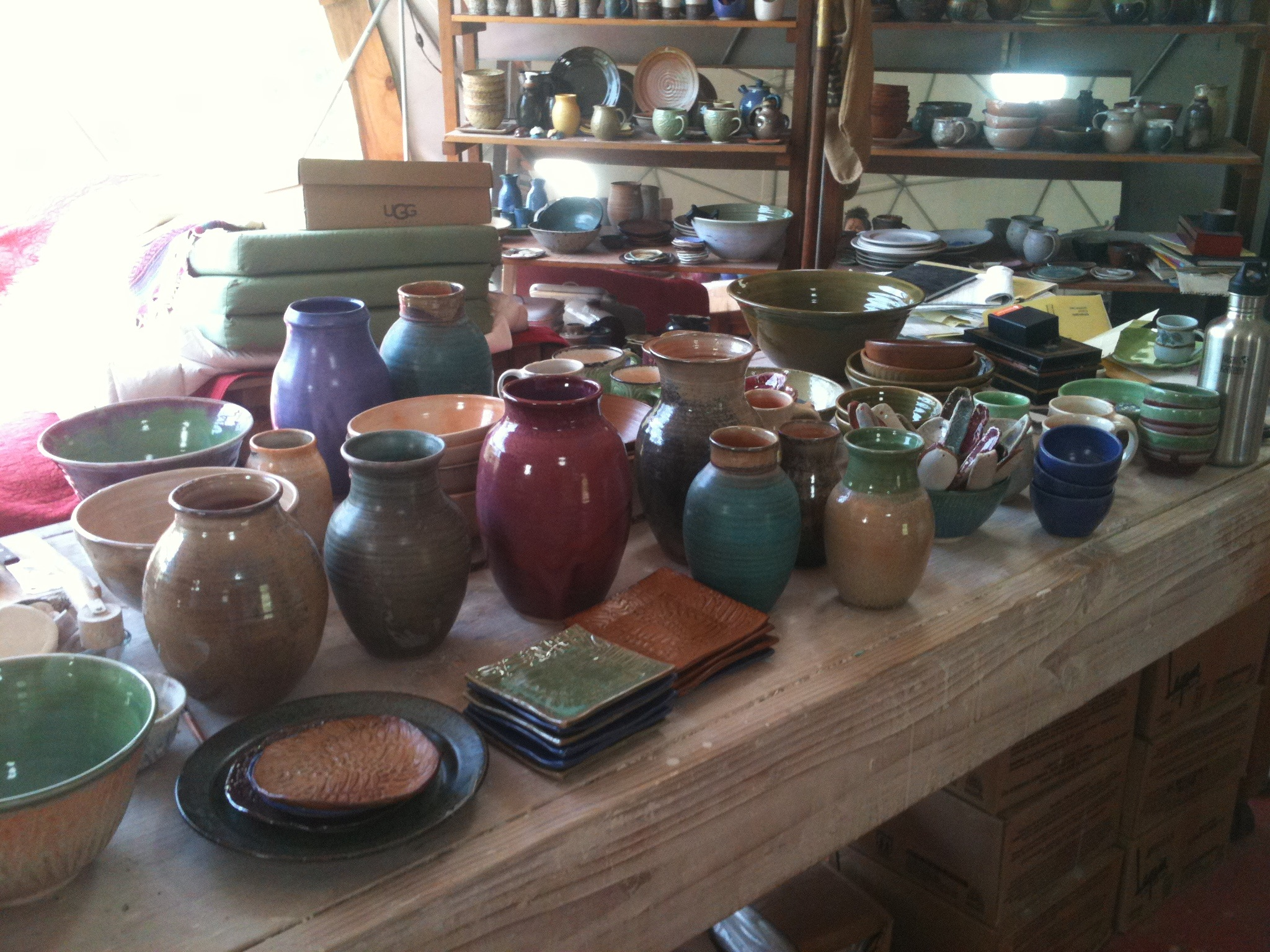 Lots of pots!