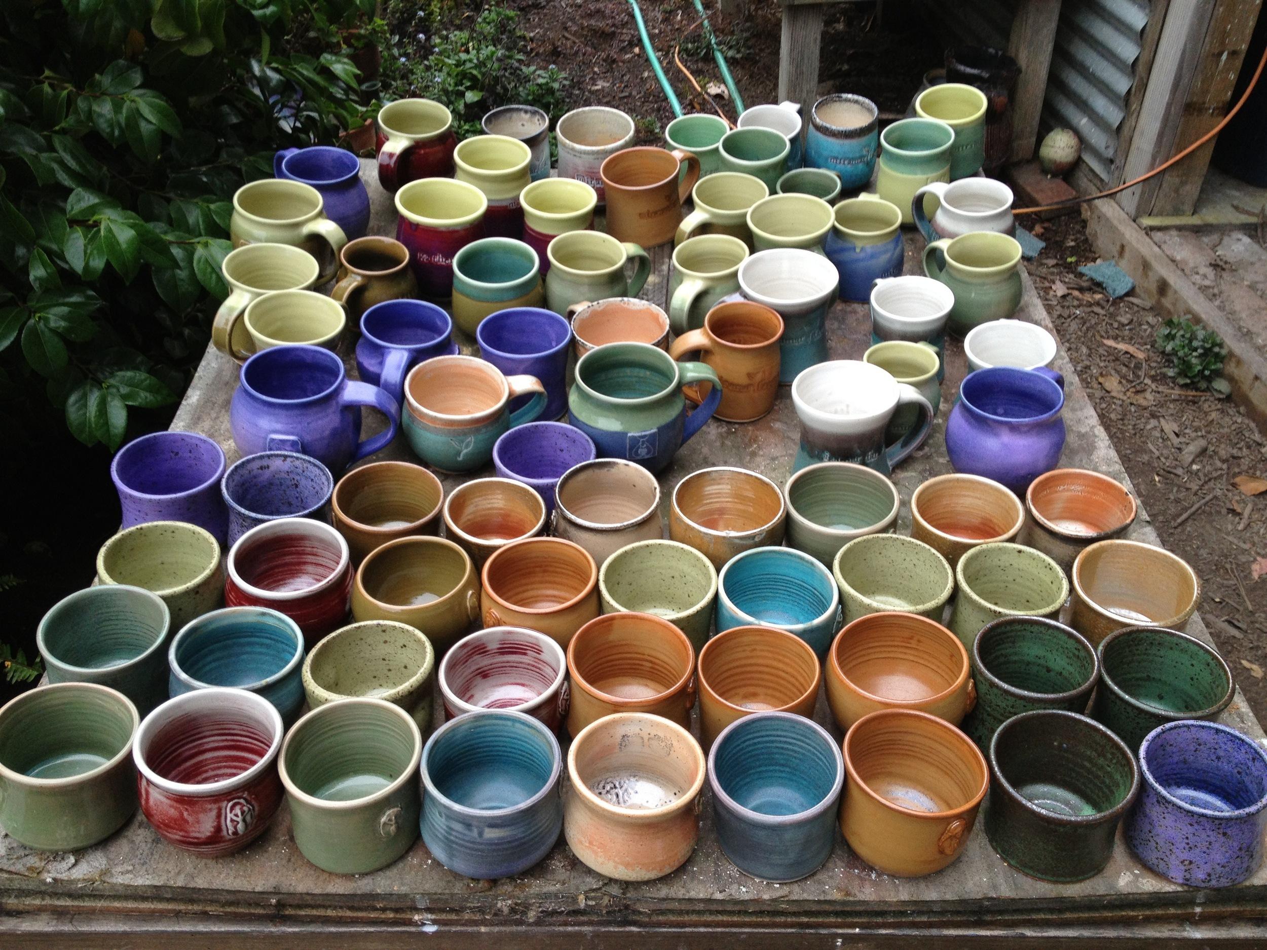 Gaia Essentials candle pots