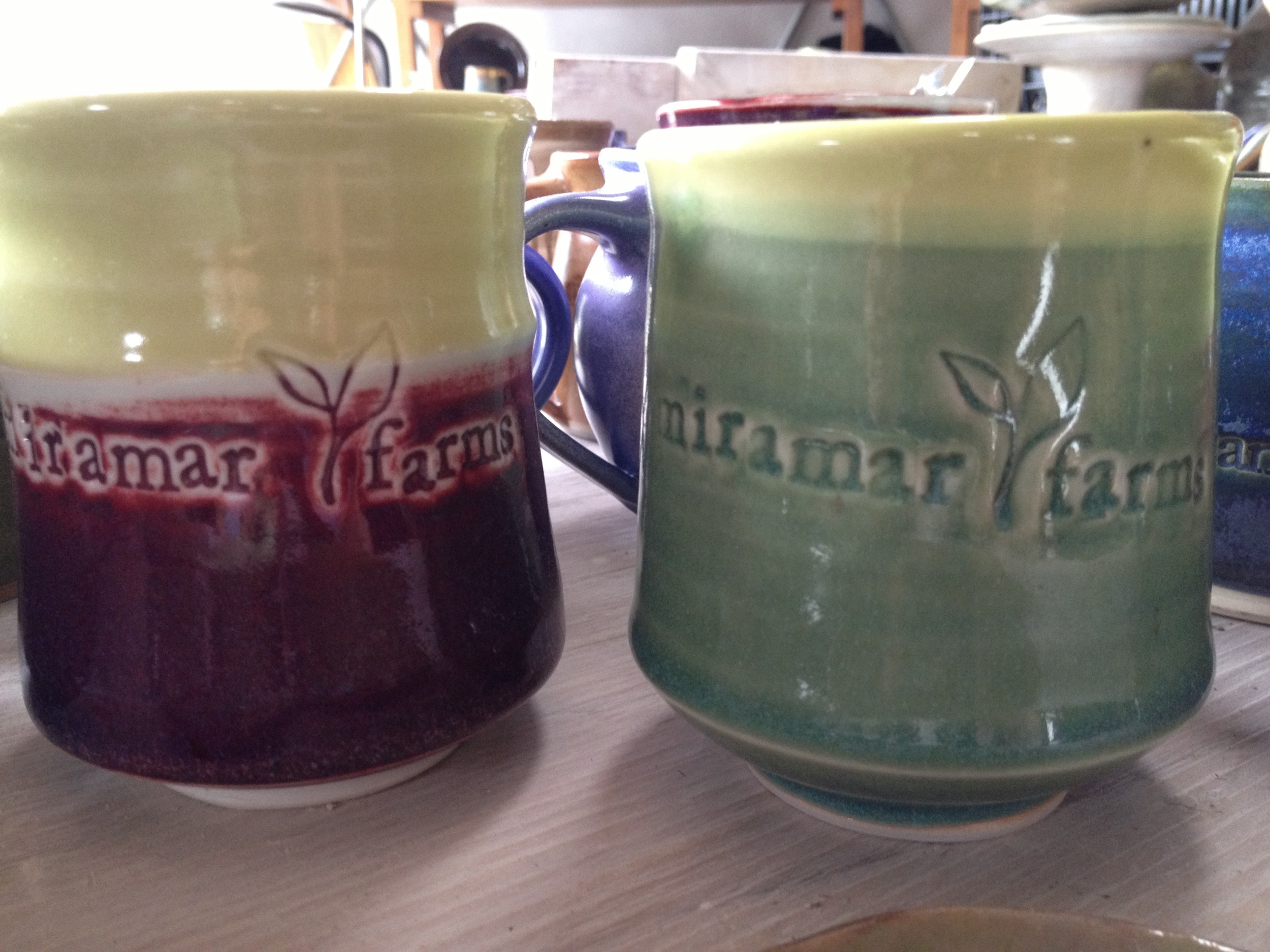 Miramar Farms teacups
