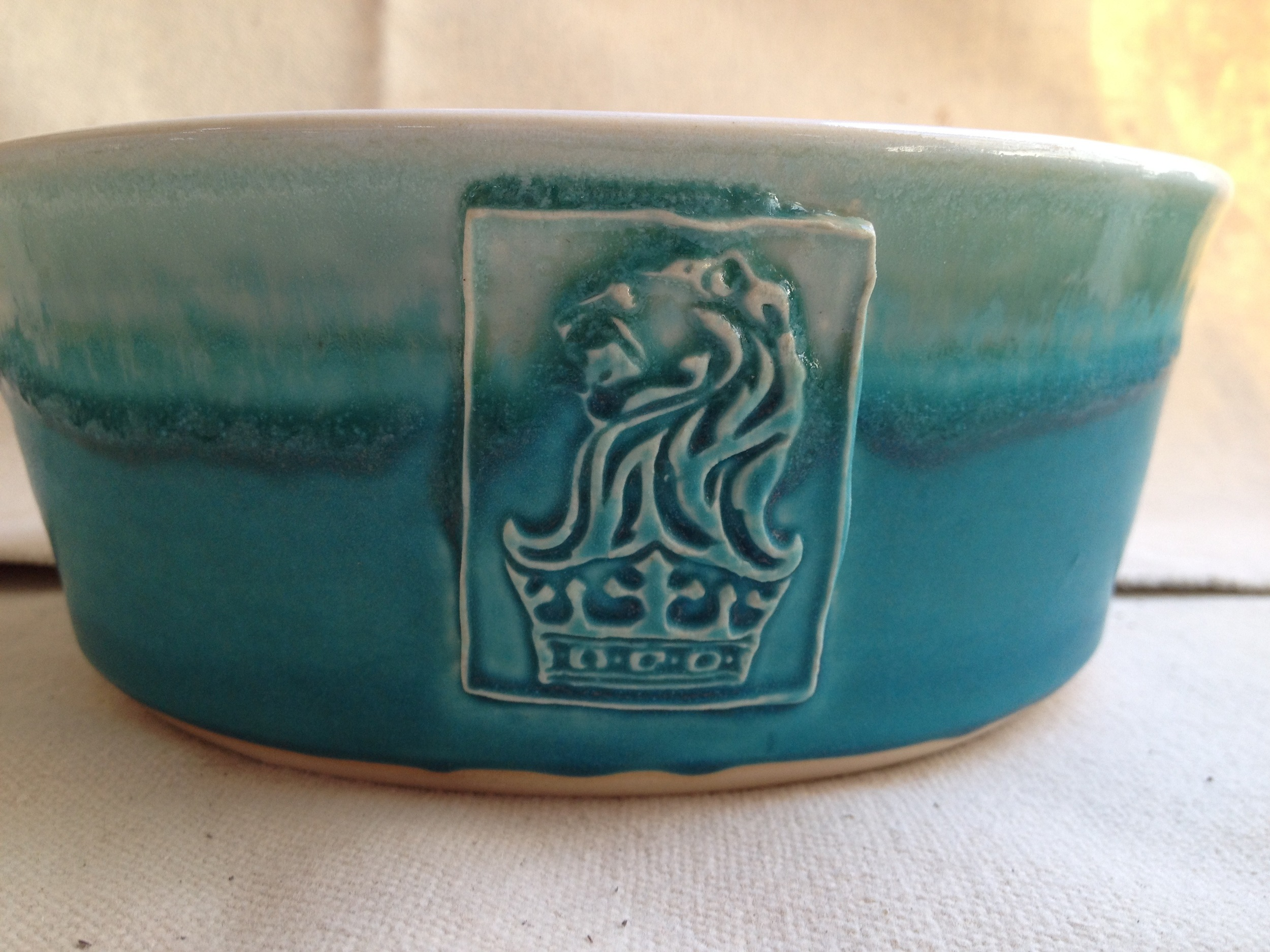 Ritz Carlton dog bowls