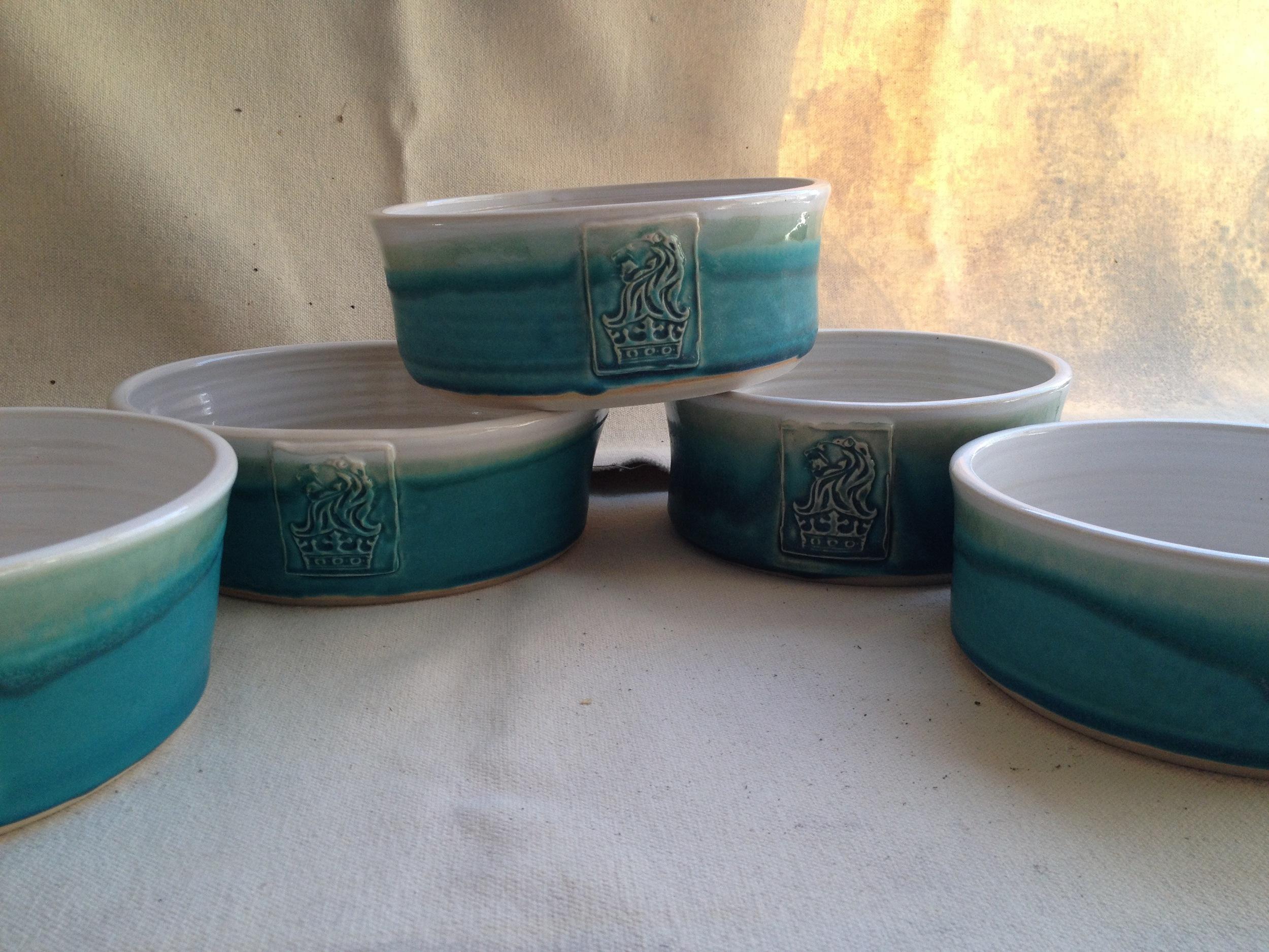 Ritz Carlton dog bowls!!!