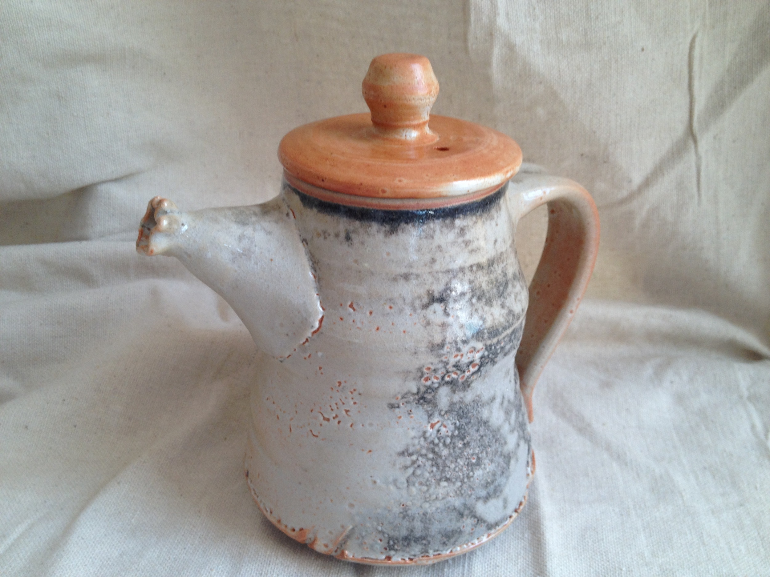 Shino tea pot