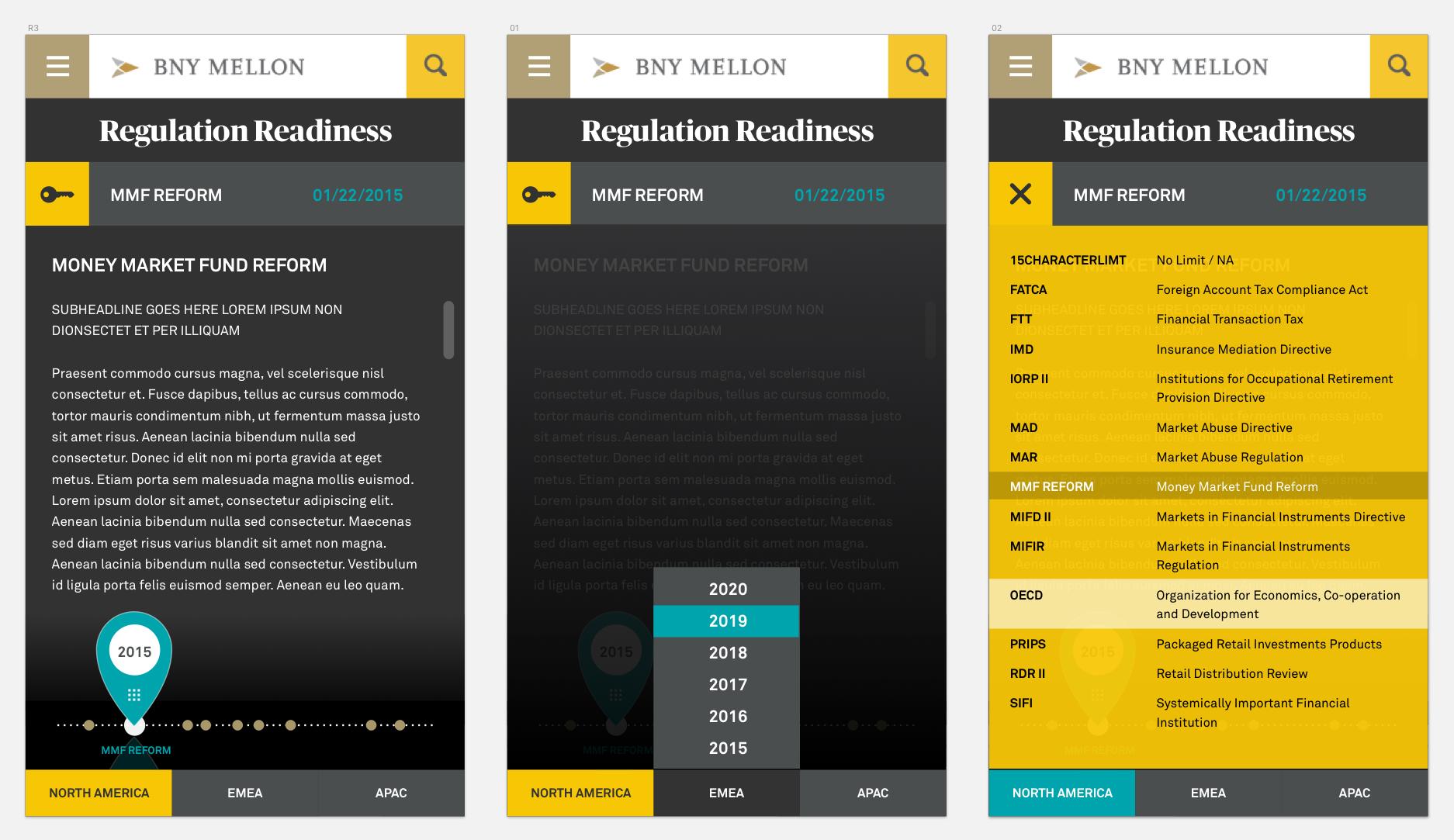 - FinalThe final design was more developer-friendly and compatible with BNY Mellon's enterprise content management system.