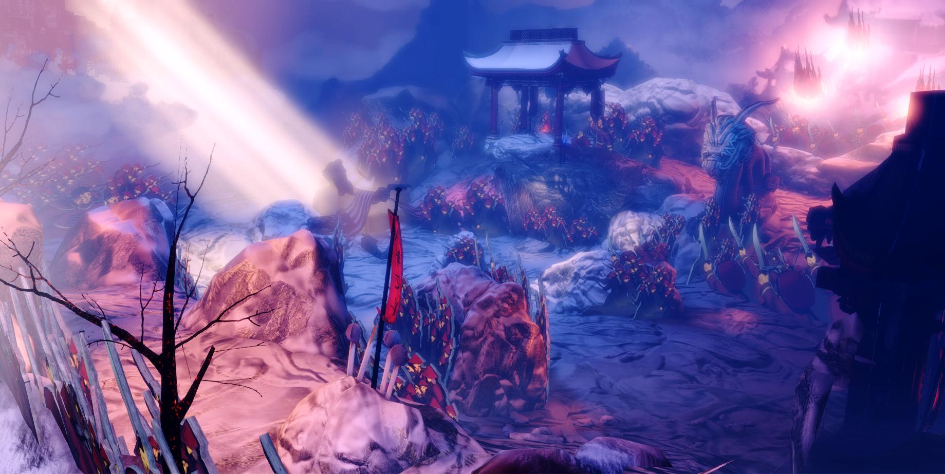 Boxer Rebellion terrain and cover
