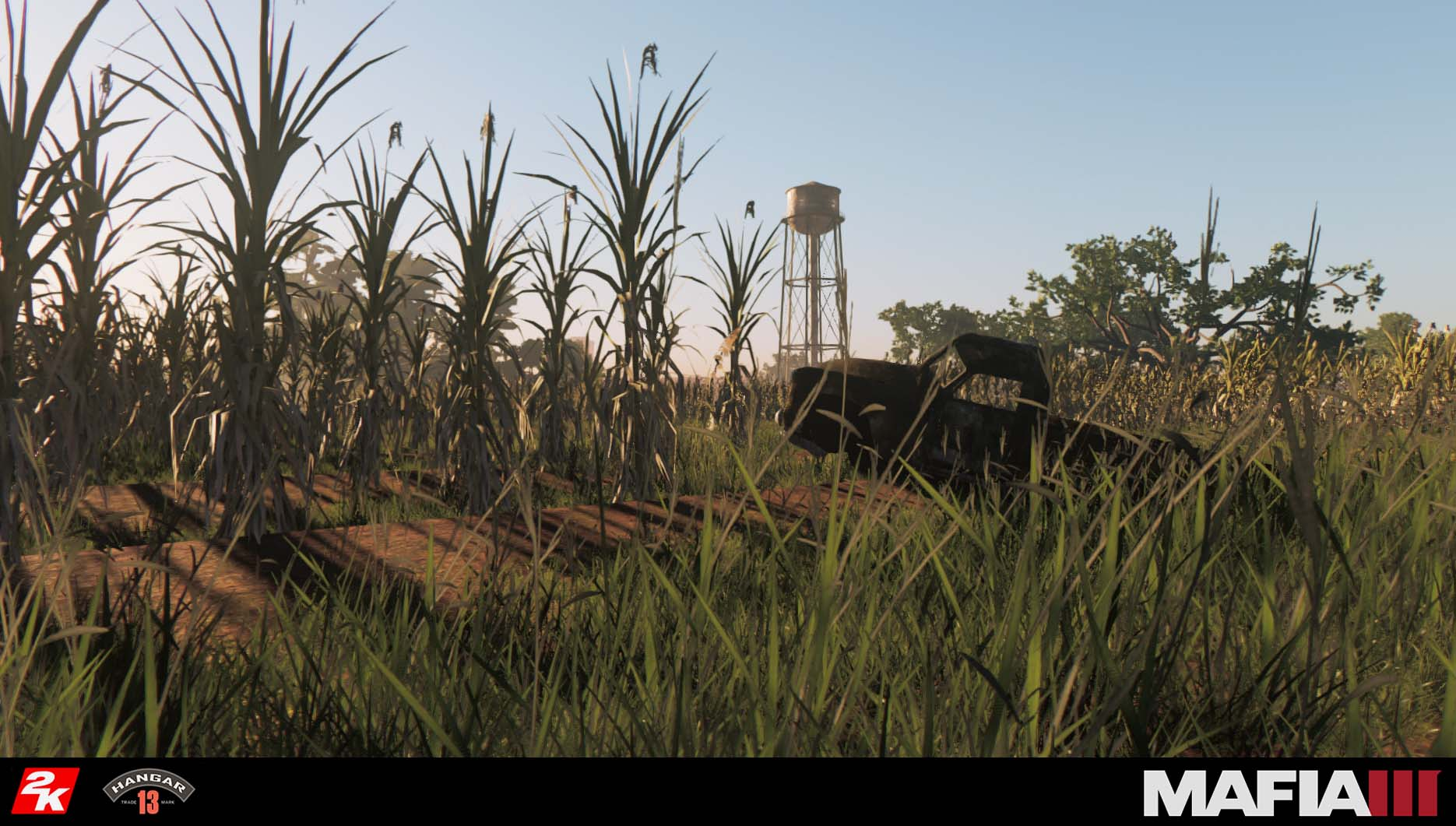 Among the regions of the bayou, from the swamp to the riverlands, this plantation area was especially fun in establishing it as part of the bayou yet distinguished enough to distance it from the more jungle-y areas surrounding it.