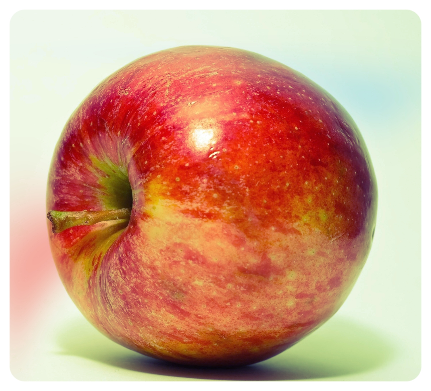 The form essentially dictates that this must be an apple