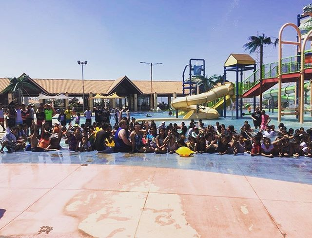 """They all had so much fun. Everyone was equal at the water park. Poverty didn't have a name that day. "" 😭 - Pastor Karen Jolley on why they take the kids in our Nicaragua Schools to the water park."