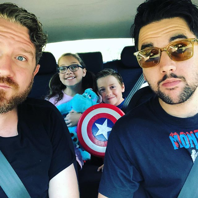 Off to #HeroesCon2019 with Little Cap and Boo!