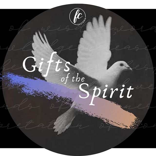 New series alert!!! Gifts of The Spirit starts at 10:30 tomorrow @fcgastonia! Also...@lady.loop is just killing these graphics lately!! #FCG #FreedomChurchGastonia #HomeLocalGlobal #GetYourHopesUp #GiftsofTheSpirit