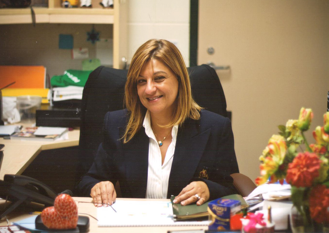SEYLA COHEN- Preschool Director   Born in Izmir, Turkey, Seyla came to the USA in 1985. She began working as a teacher in the Temple Shalom Preschool in 1991, when her son was in the 2-year-old program, and became the Preschool Director in 2007.  Seyla has a degree in Business Administration. She also holds a Florida Child Care Professional Credential (FCCPC) and Advanced Director's Credential. She is passionate about Early Childhood Education and believes that self-confidence in children is the most important instrument to raise successful children.