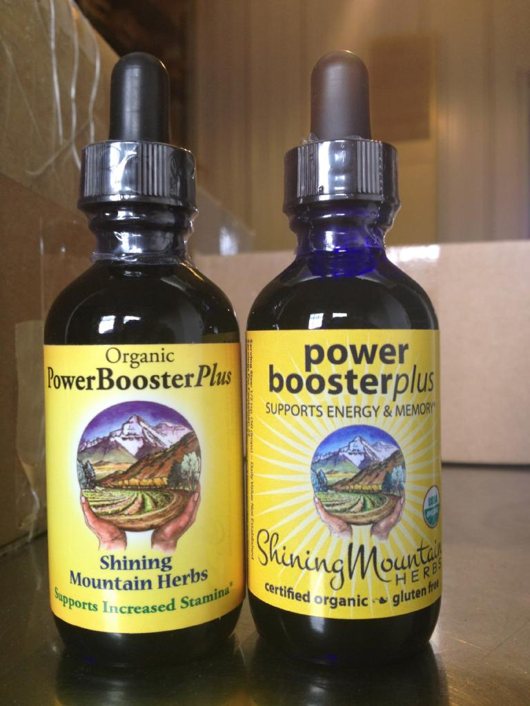 Power Booster Plus   liquid extract - Before + After