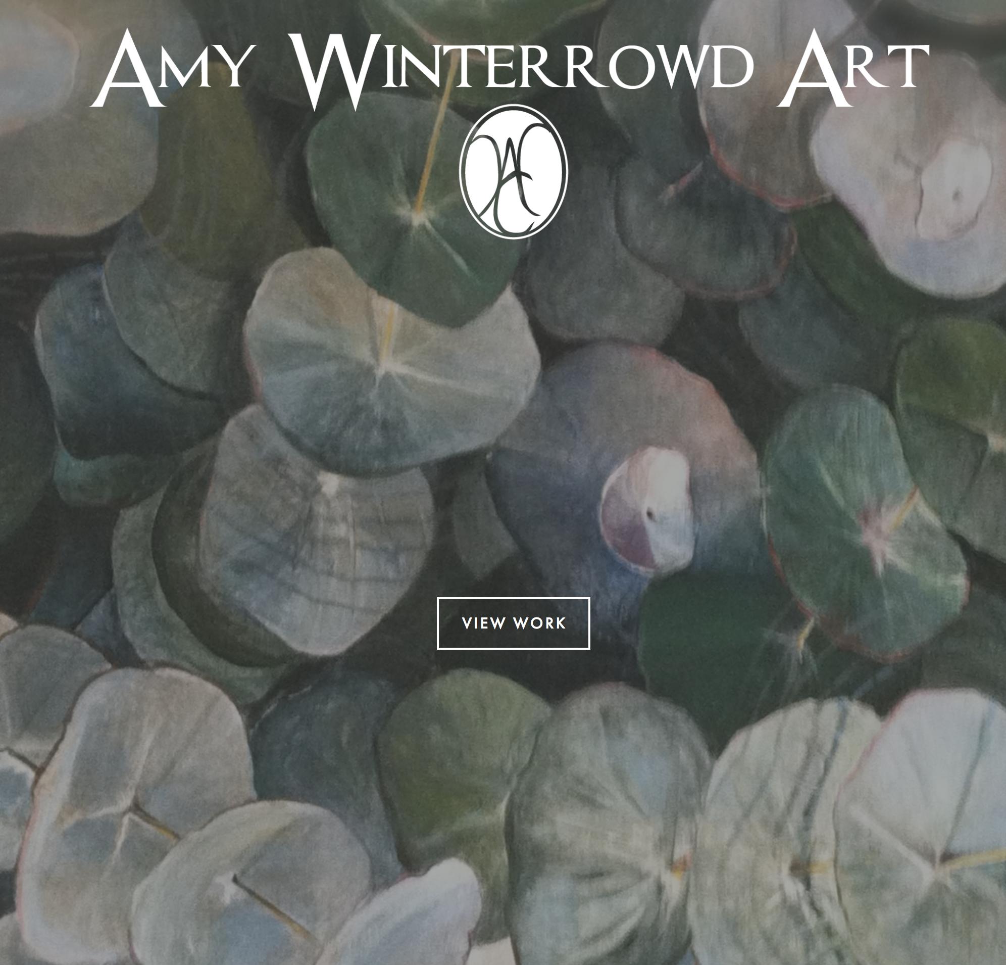 Amy Winterrowd Art Website