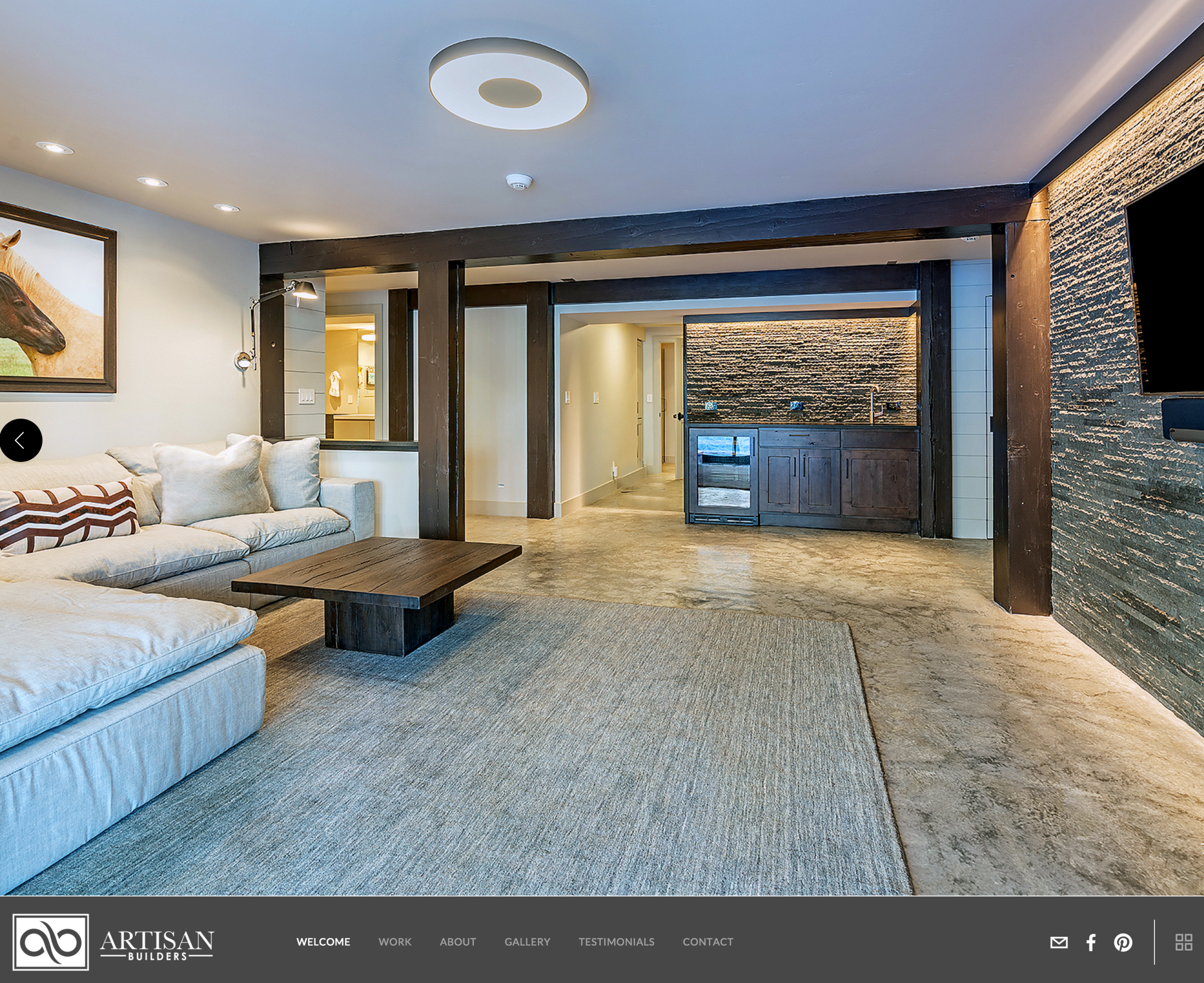 Website for Artisan Builders