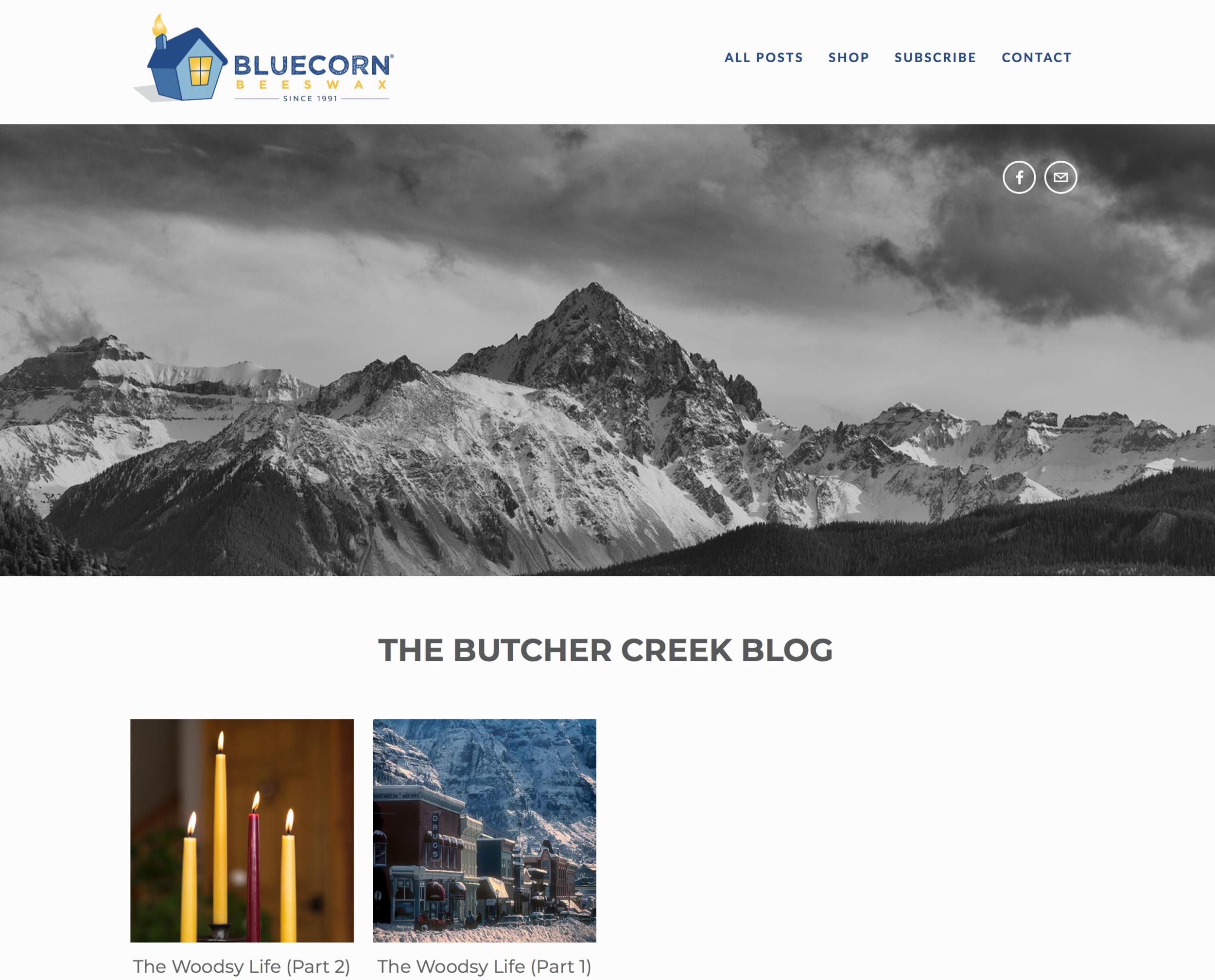 Bluecorn Beeswax Blog Site
