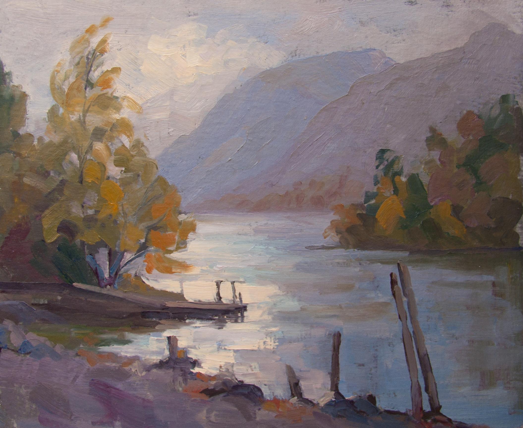 Autumn on Derwent Water