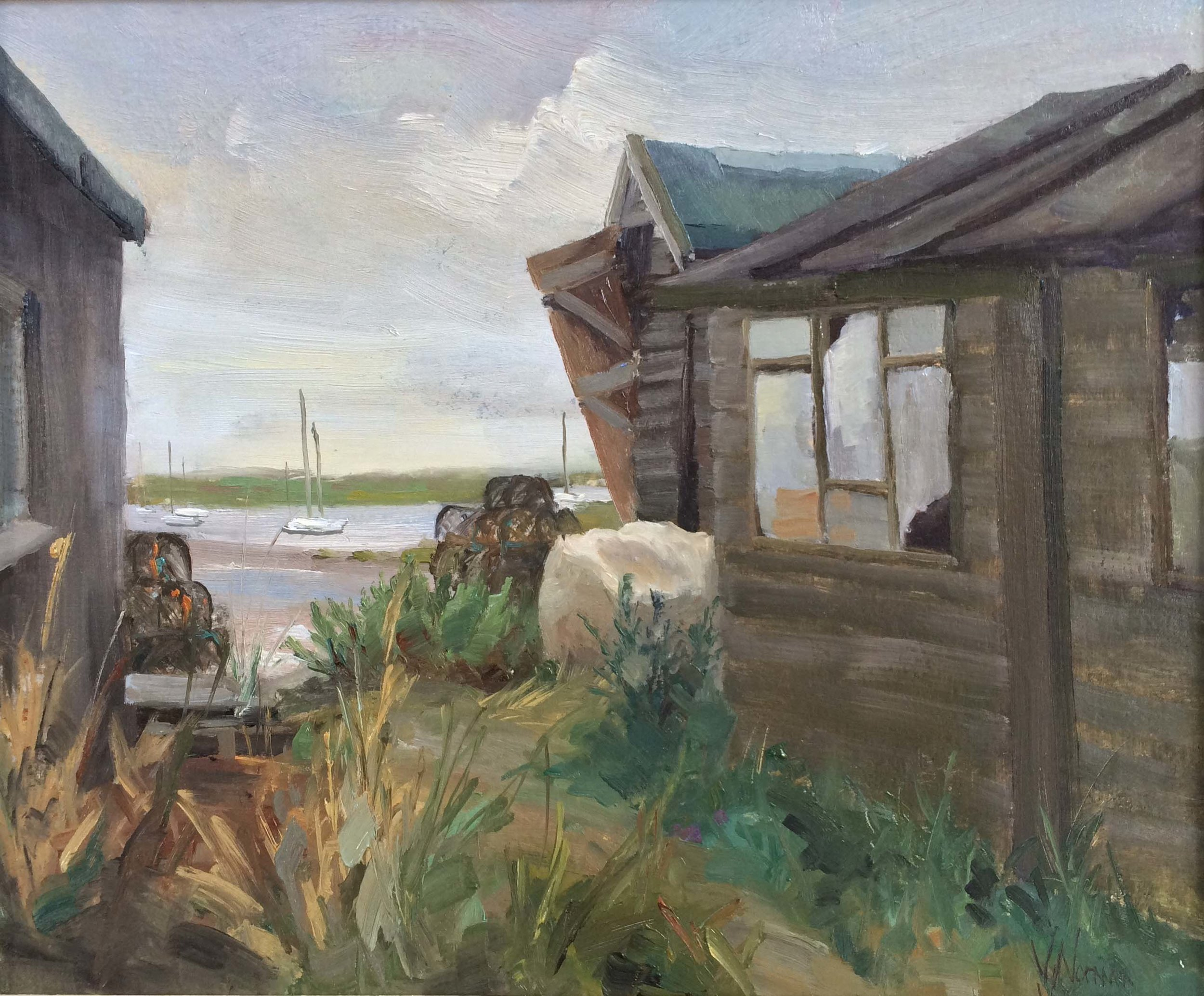 The Broken Door, Brancaster Staithe