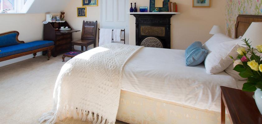 Bedroom at Westhope College
