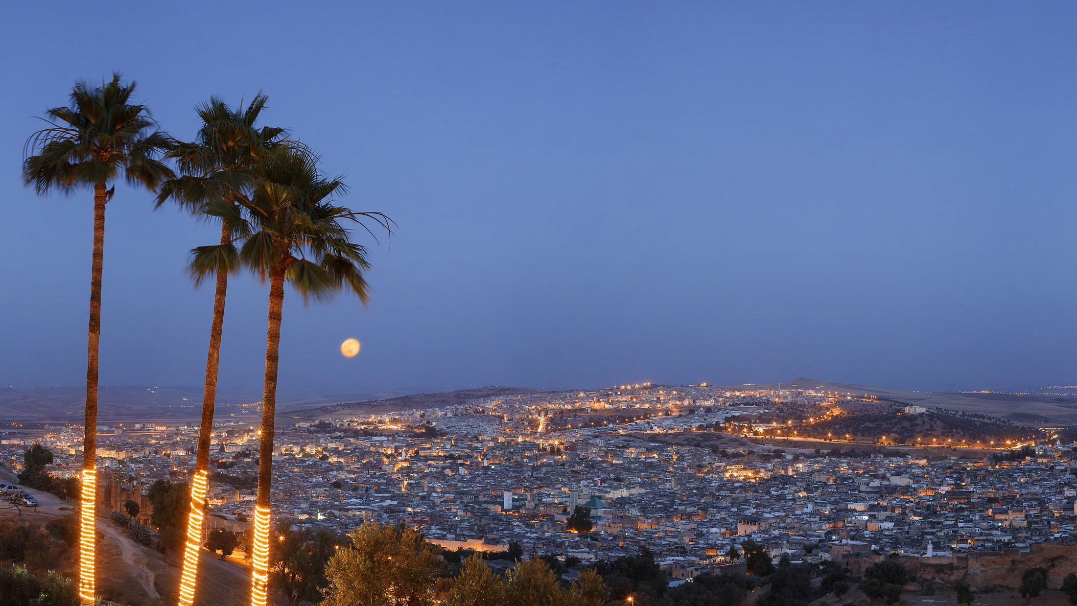 The Royal Palace of Fez (image Luiz Davilla Getty images)