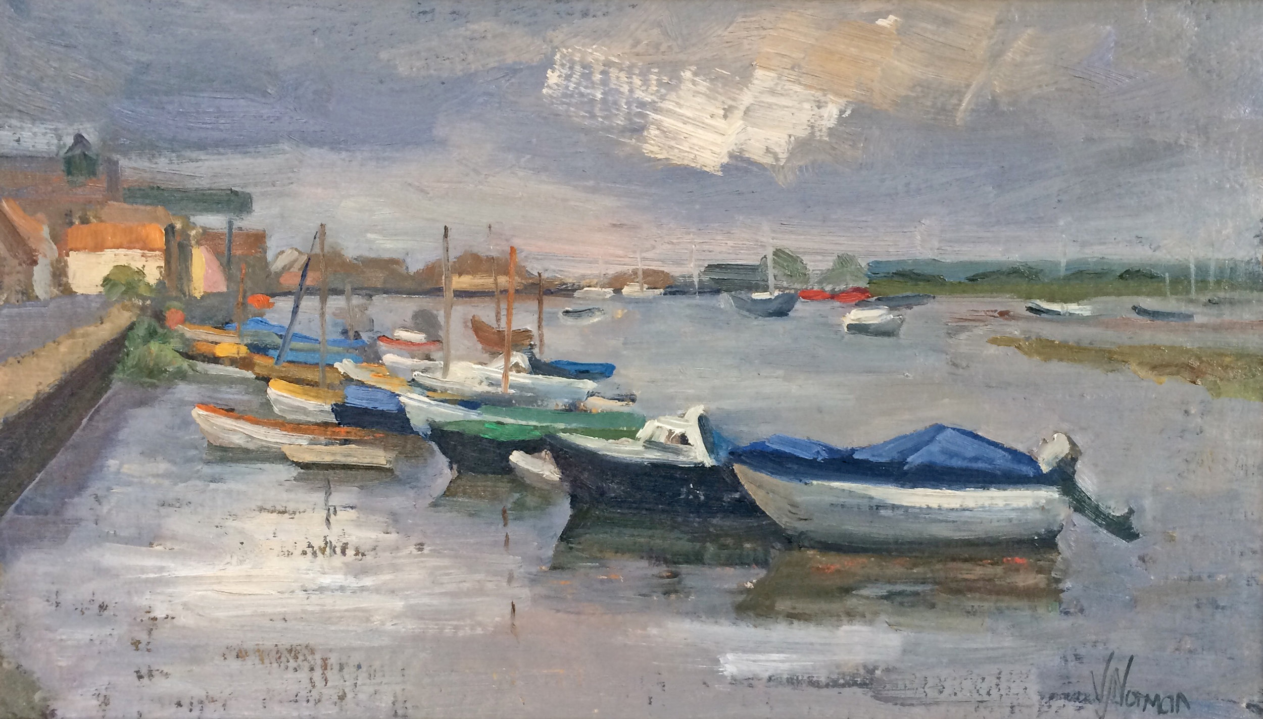 Boats in Wells