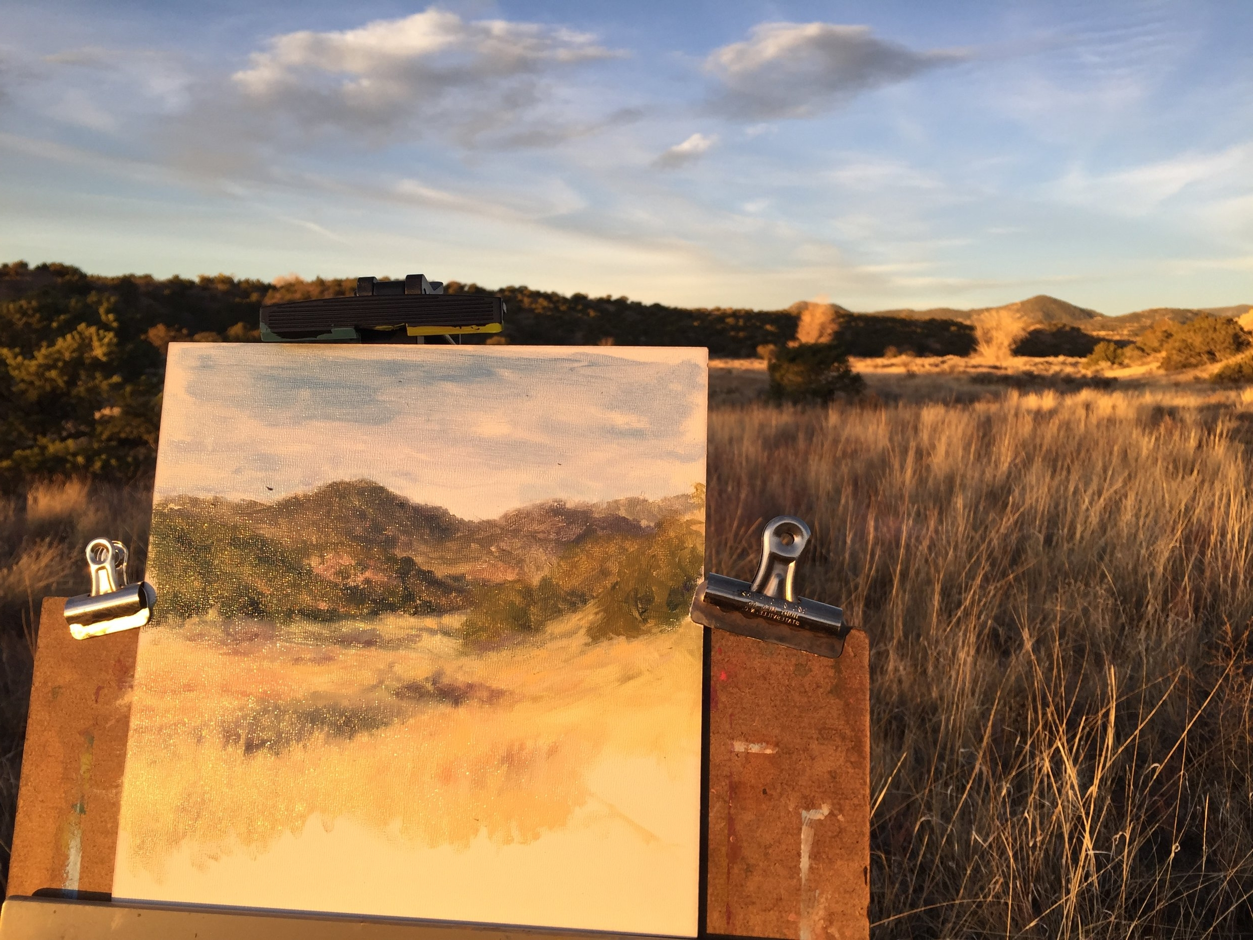 Painting Outdoors - for beginning oil painters
