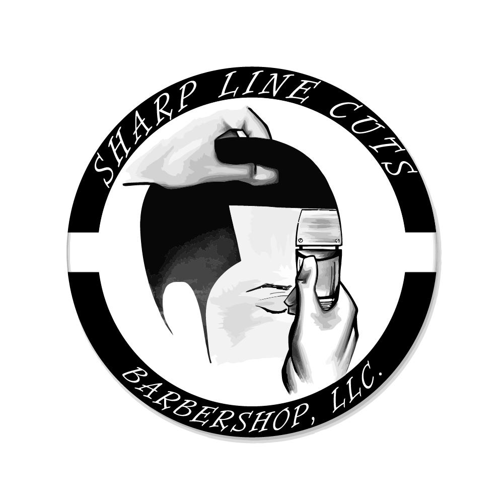 Sharp Line Cuts Logo