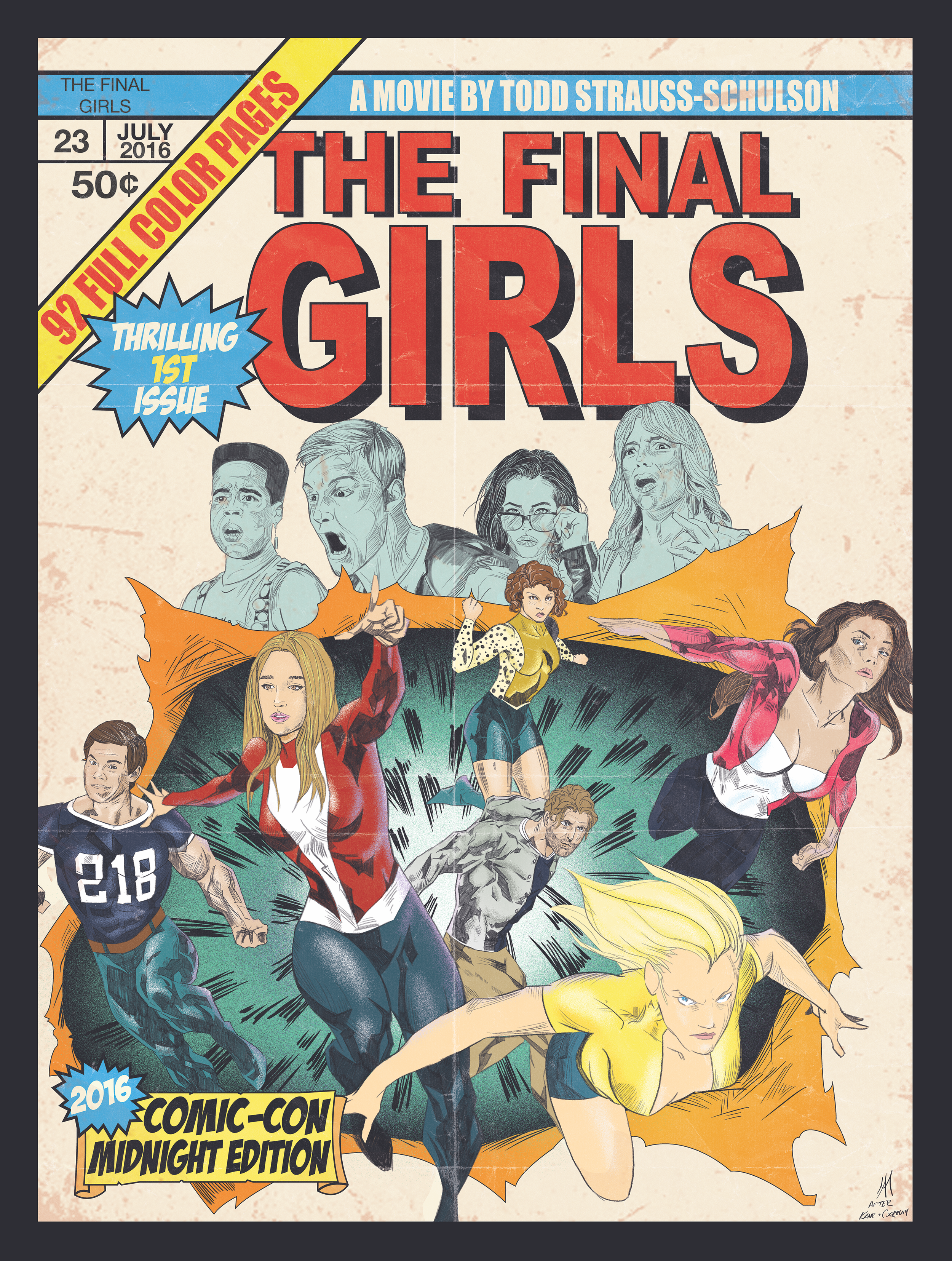 The Final Girls (San Diego Comic Con 2016)