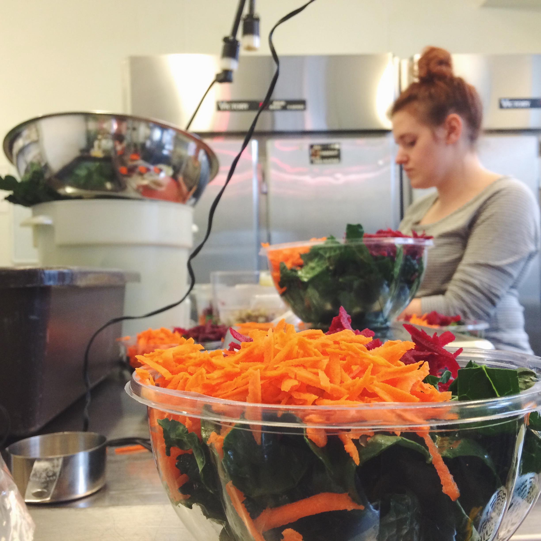Making salads | drinktruce.com.jpg