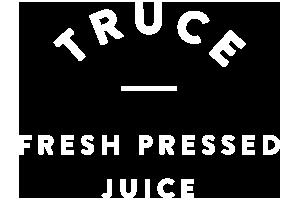 Truce Logo White Outlined