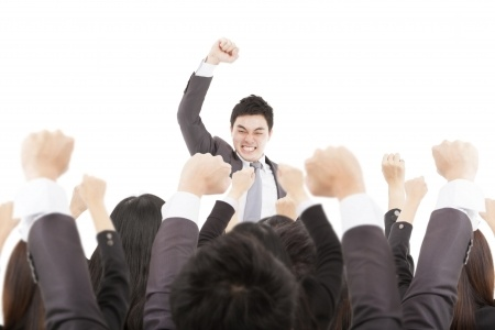 Businessman Cheering.png