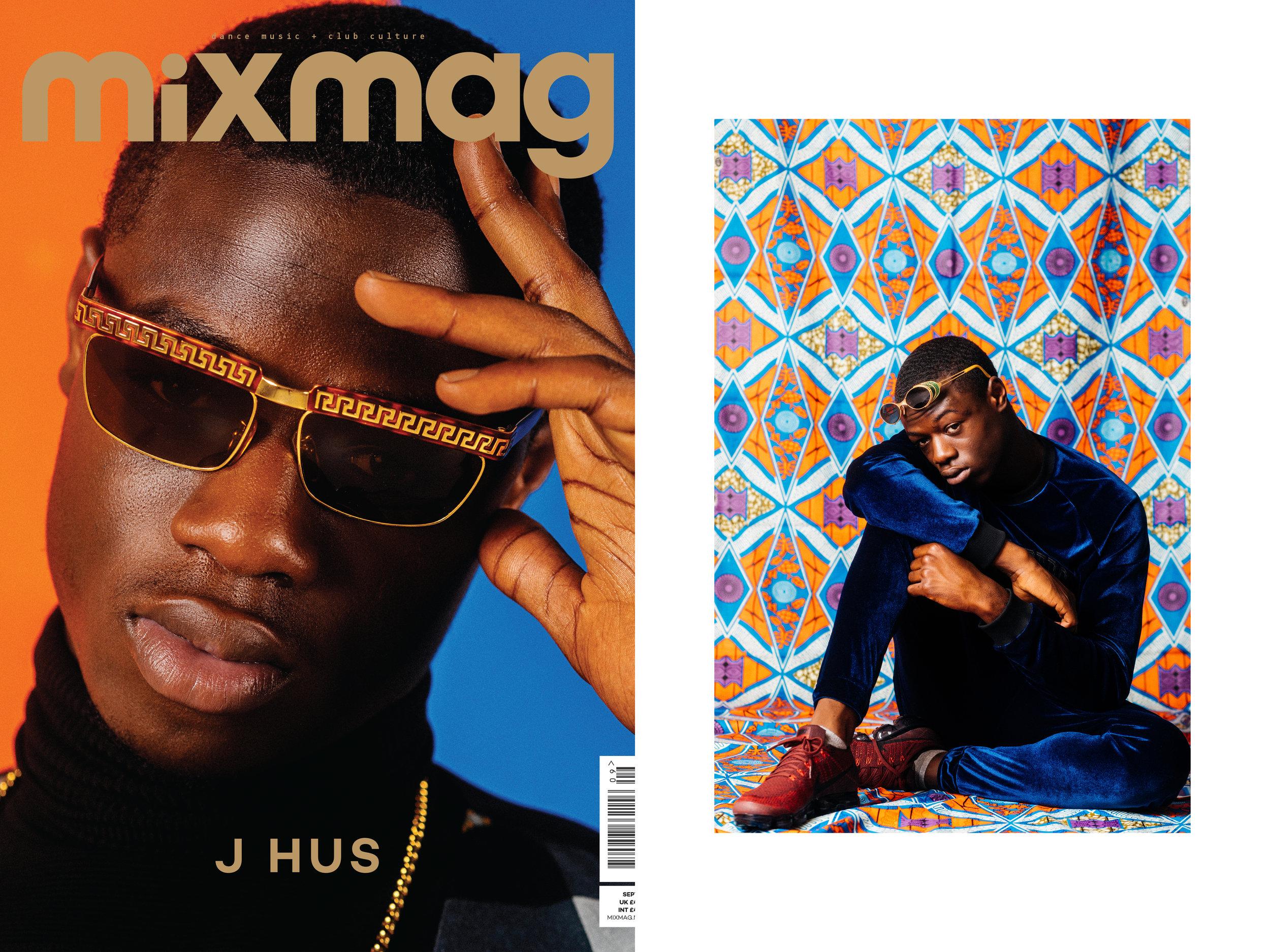 J Hus (for Mixmag)