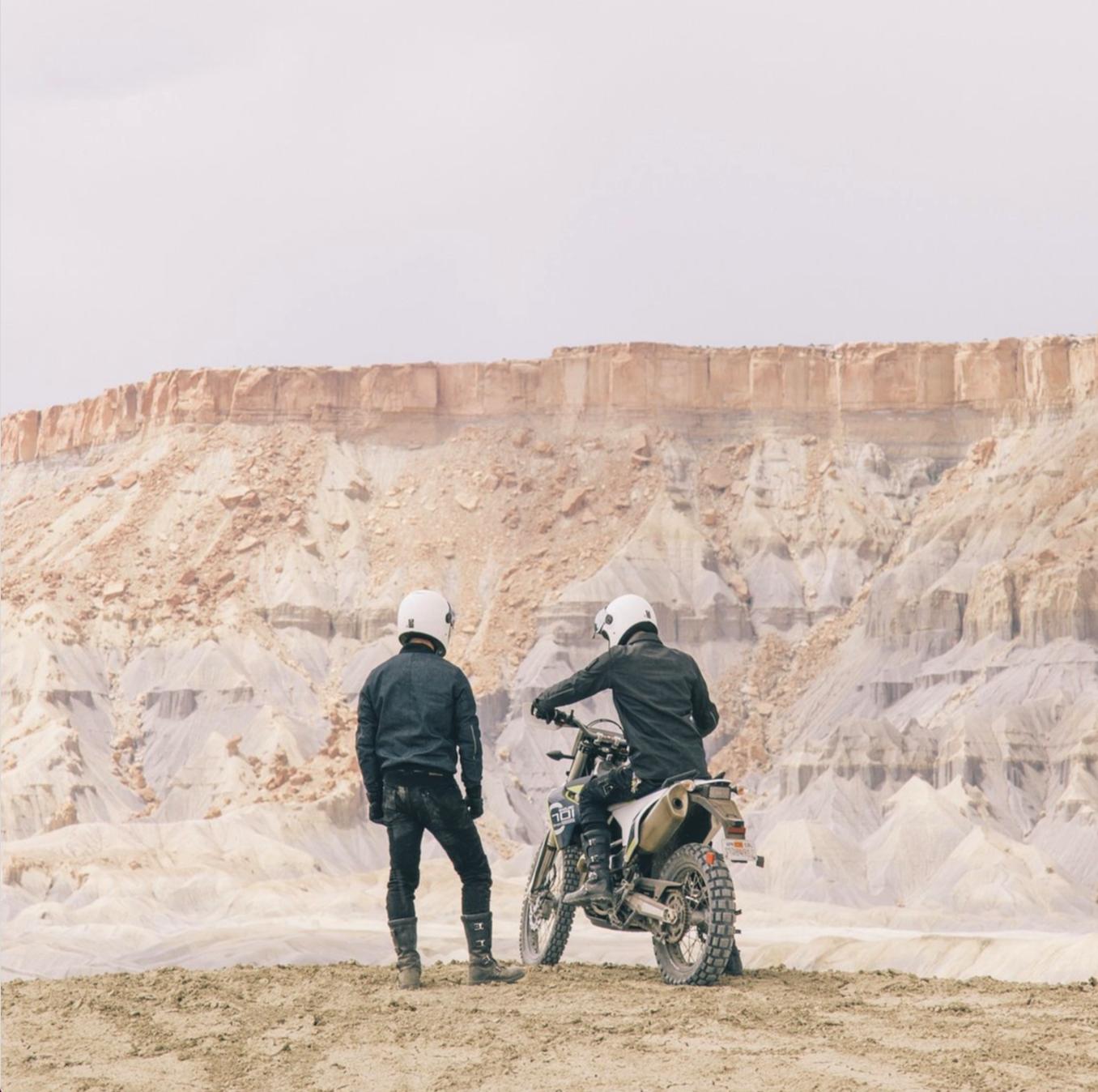 David + Andrew - Cafe racers of Instagram