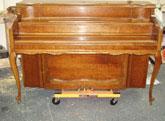 "This ""Hazelton"" Upright Spinet piano"