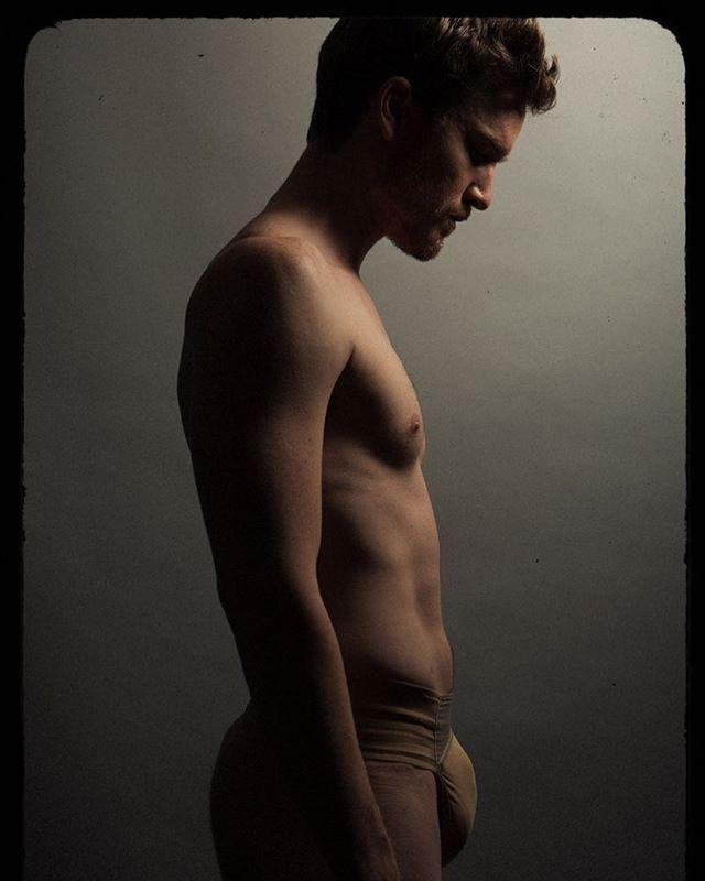 #balletdancer @marklwax shot in his #dancebelt in #losangeles