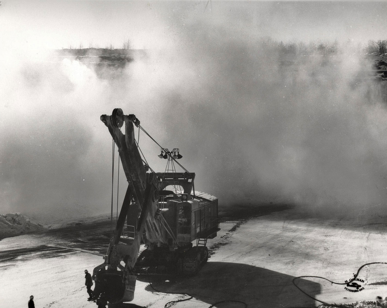 1955 Blast Marmoraton Mine