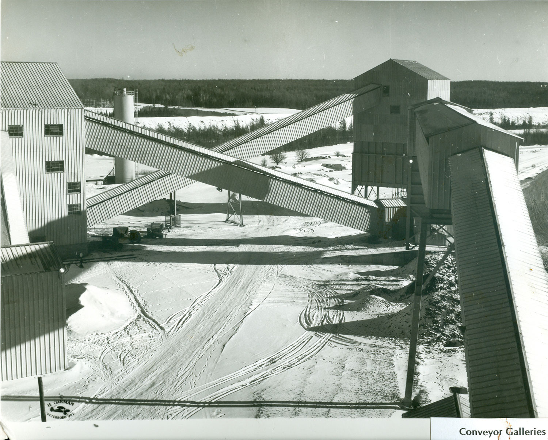 1955 Marmoraton Mine Conveyor Galleries
