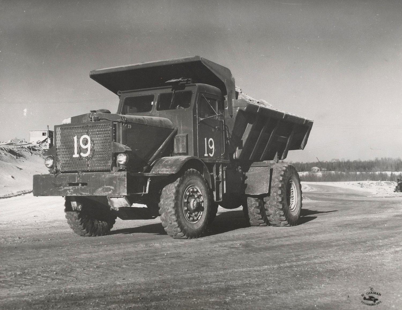 1955 Marmoraton Mine Euclid truck